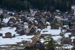 O curso de Japão, Shirakawa-vai, em abril de 2018 imagens de stock