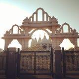 O curso de Londres Paris Europa do templo da Índia descobre imagem de stock