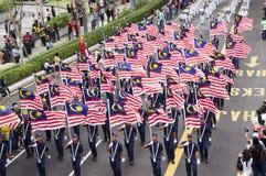 57.o Día de la Independencia de Malasia Foto de archivo