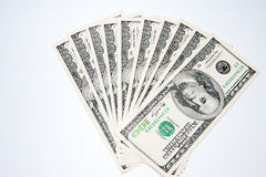 O dólar americano Fotografia de Stock Royalty Free