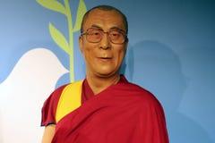 14o Dalai Lama da estátua da cera de Tibet Fotografia de Stock Royalty Free