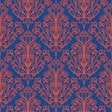 O damasco Wallpaper ilustração stock