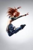 O dançarino Imagens de Stock Royalty Free