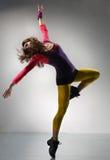 O dançarino fotos de stock royalty free