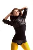 O dançarino moderno fotos de stock royalty free
