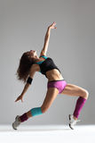O dançarino moderno foto de stock