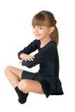 O dançarino pequeno Fotos de Stock Royalty Free