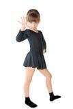 O dançarino pequeno Fotografia de Stock