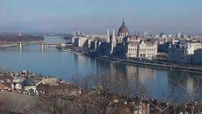 O Danúbio em Budapest Imagens de Stock Royalty Free