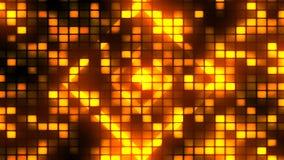 O dance party ilumina o fundo de 2 Loopable ilustração do vetor