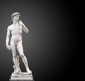 O David de Michelangelo foto de stock