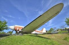 O DC-3 aposentado de Clark Gable fotografia de stock
