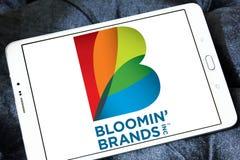 O ` de Bloomin marca o logotipo da empresa Imagem de Stock Royalty Free
