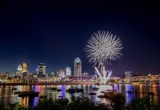 4o de celebrações de julho Fotografia de Stock