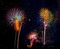 4o de fogos-de-artifício do feriado de julho Fotos de Stock