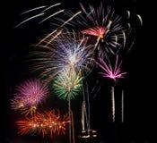 4o de fogos-de-artifício do feriado de julho Fotografia de Stock Royalty Free
