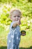 O dedo das crianças imagem de stock royalty free