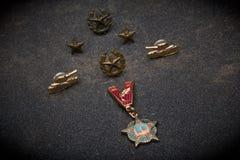 O defensor pátria dia do 23 de fevereiro equipa o dia Imagem de Stock Royalty Free