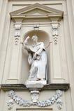 O della Santissima Annunziata da bas?lica ? um romano - bas?lica menor cat?lica em Floren?a, It?lia, a igreja de m?e da ordem de  imagens de stock royalty free