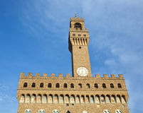 O della velho Signoria do palácio, do Palazzo Vecchio ou do Palazzo, Flore Imagem de Stock