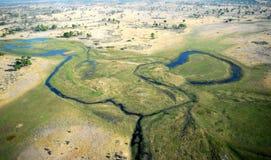 O delta africano 3 Fotos de Stock
