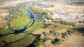 O delta africano Fotos de Stock Royalty Free