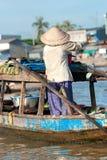 O delta de Mekong, pode Tho, Vietnam Imagem de Stock