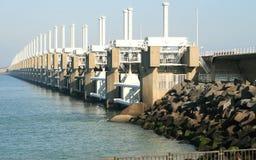 O delta trabalha nos Países Baixos Fotografia de Stock Royalty Free