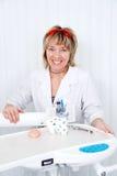 O dentista. Imagens de Stock Royalty Free
