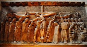 O depósito de Cristo Imagens de Stock Royalty Free