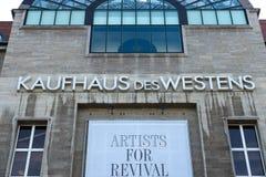 O DES Westens de Kaufhaus (KaDeWe) Imagens de Stock Royalty Free
