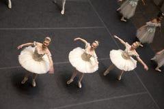 O desempenho da empresa de Dallas Ballet considerou do segundo andar imagem de stock