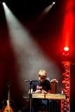O desempenho vivo de Barr Brothers (faixa) no festival de Bime Fotografia de Stock Royalty Free