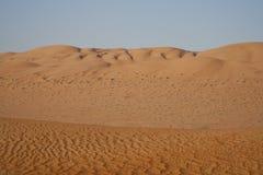 O deserto árabe imagem de stock