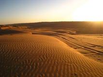 O deserto árabe imagem de stock royalty free