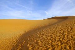 O deserto Imagem de Stock