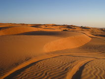 O deserto alaranjado imagens de stock royalty free