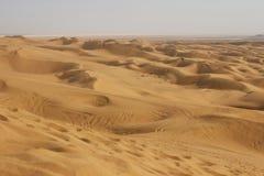 O deserto de Maranjab, Irã fotografia de stock royalty free