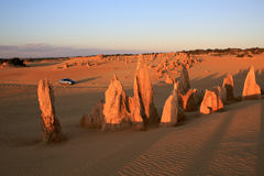 O deserto dos pináculos Imagem de Stock