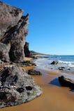 O deserto gosta da praia em spain Fotografia de Stock Royalty Free