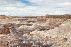 O deserto pintado, o Arizona imagens de stock