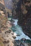 O desfiladeiro do Tigre-Pulo Imagem de Stock Royalty Free