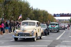 97.o desfile anual 2017 del día del ` s del veterano Fotografía de archivo libre de regalías