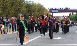 97.o desfile anual 2017 del día del ` s del veterano Foto de archivo