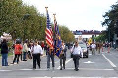 97.o desfile anual 2017 del día del ` s del veterano Fotos de archivo libres de regalías