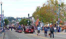 97.o desfile anual 2017 del día del ` s del veterano Fotos de archivo