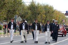 97.o desfile anual 2017 San Francisco, CA del día del ` s del veterano Imagen de archivo libre de regalías