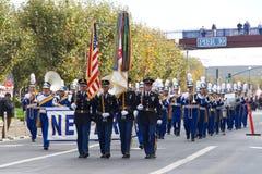 97.o desfile anual 2017 San Francisco, CA del día del ` s del veterano Imágenes de archivo libres de regalías