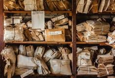 O desperdício de papel para recicla fotografia de stock royalty free