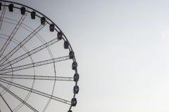 O detalhe de ferris roda dentro Dusseldorf, Alemanha Fotos de Stock Royalty Free